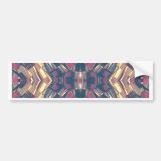 Multicolored Dark Modern Bumper Sticker