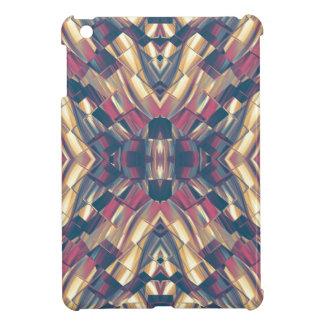 Multicolored Dark Modern iPad Mini Cover