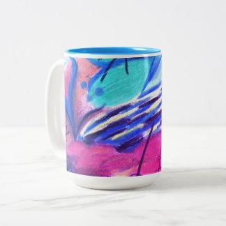 Multicolored Design cup