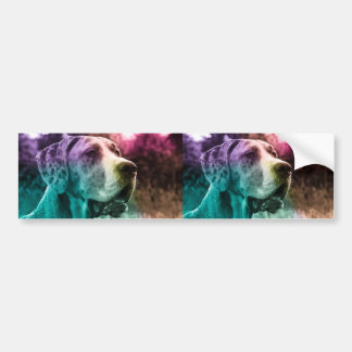Multicolored Dogge sticker