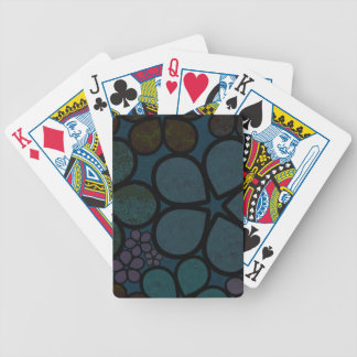 Multicolored Floral Bicycle® Poker Playing Cards