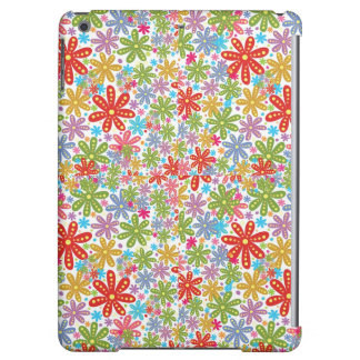 Multicolored Flowers Design. Floral Pattern iPad Air Case