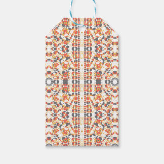 Multicolored Geometric Pattern Gift Tags
