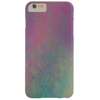 Multicolored Grungy Texture Abstract Remix Barely There iPhone 6 Plus Case
