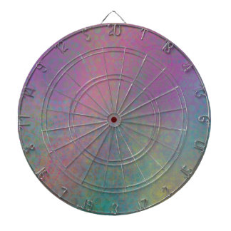 Multicolored Grungy Texture Abstract Remix Dartboard