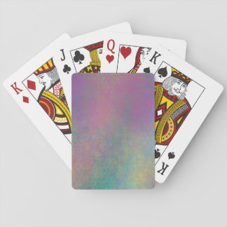 Multicolored Grungy Texture Abstract Remix Playing Cards
