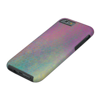 Multicolored Grungy Texture Abstract Remix Tough iPhone 6 Case