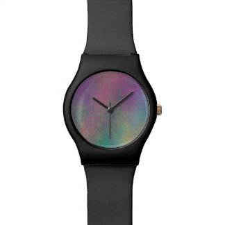 Multicolored Grungy Texture Abstract Remix Watch