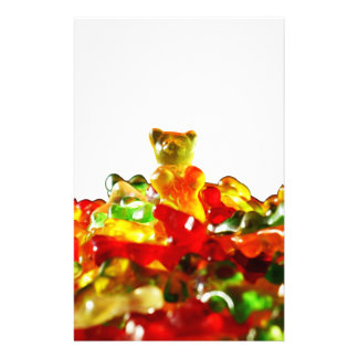 Multicolored Gummy Bears Personalised Stationery
