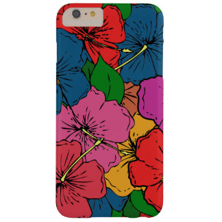 Multicolored Hibiscus Flowers #5 Barely There iPhone 6 Plus Case