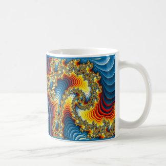 Multicolored Landscape Fractal Coffee Mug