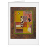 Multicolored modern abstract art