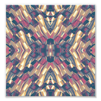 Multicolored Modern Geometric Photo Print