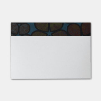 Multicolored Modern Textured Floral Post-It Notes