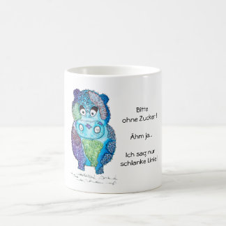 Multicolored Nilpferd Coffee Mug