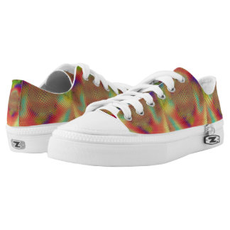 Multicolored Orb Lo-Top Printed Shoes