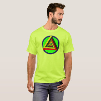 multicolored phantom view T-Shirt