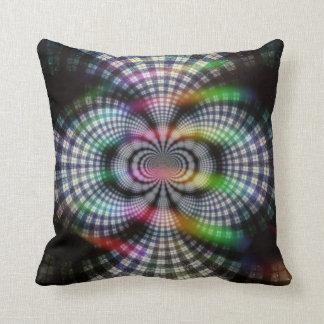 Multicolored Plaid Cushion
