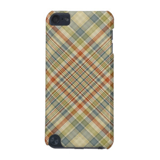 Multicolored plaid pattern iPod touch 5G covers