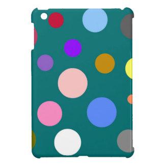 Multicolored points iPad mini cases
