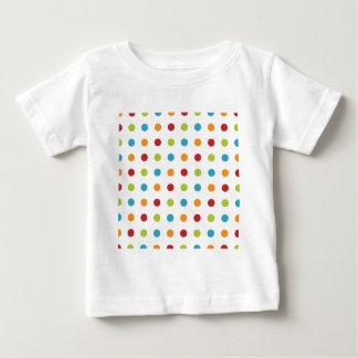 Multicolored Polka Dots Baby T-Shirt