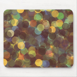 Multicolored Rays of Light Pattern Mouse Pads