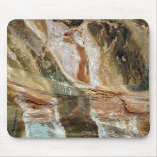 Multicolored Rock Face Mouse Pad