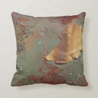 Multicolored Rust Corrosion Cushion