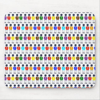 Multicoloredsoldiers Mouse Pad