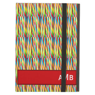 Multicolored Stripes Pattern Cover For iPad Air