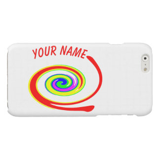 Multicolored swirl. Add your text.