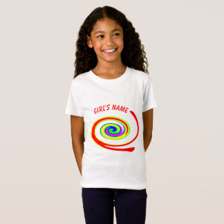 Multicolored swirl T-Shirt