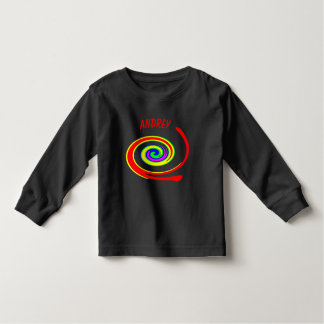 Multicolored swirl toddler T-Shirt