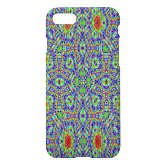 Multicolored trendy abstract pattern iPhone 7 case
