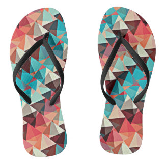 Multicolored Triangles Thongs