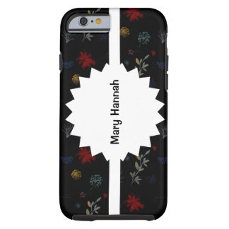 Multicolored Watercolor Botanical Pattern 01 Tough iPhone 6 Case