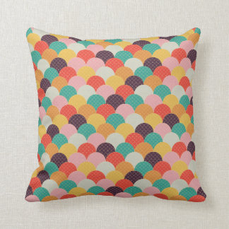 multicolored wave on cushions