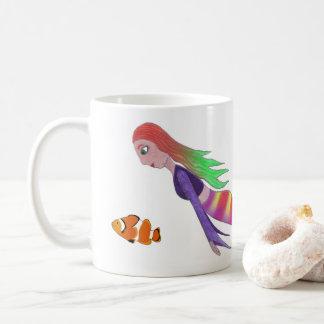 Multicolour Mermaid Mug