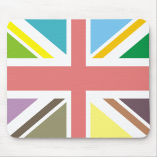 Multicolour Union Jack Mousepad