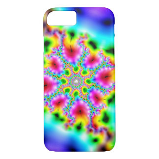 multicoloured fractal iPhone 7 case