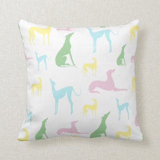 Multicoloured Greyhound Cushion