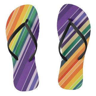 Multicoloured Slipper Thongs