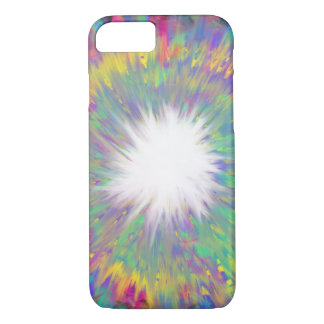 Multicoloured Star Abstract Art Painting Design iPhone 8/7 Case