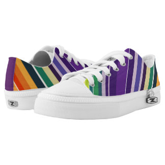 Multicoloured Stripe Shoes
