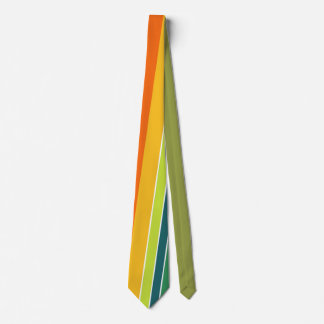 Multicoloured Vertical Stripe Tie