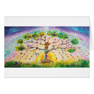 Multicultural Tree of Life | Fall Card