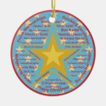 Multilingual Christmas Christmas Ornaments
