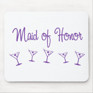MultiMartini-MaidHonor-Purp Mouse Pads