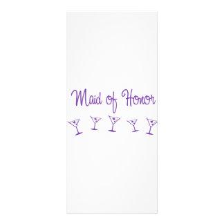 MultiMartini-MaidHonor-Purp Rack Card Design