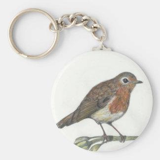 Multimedia Robin Key Ring